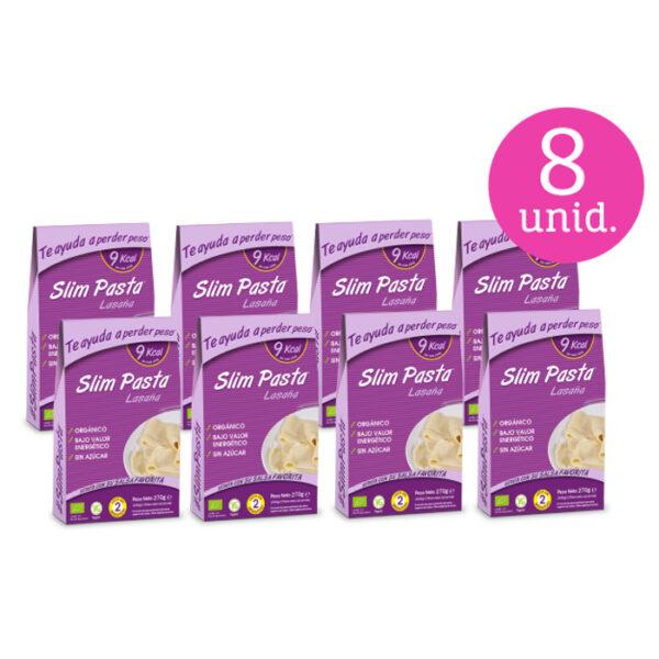 Pack 8 Slim Pasta lasaña